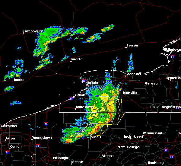Radar Image for Severe Thunderstorms near Belfast, NY at 6/5/2016 6:22 PM EDT