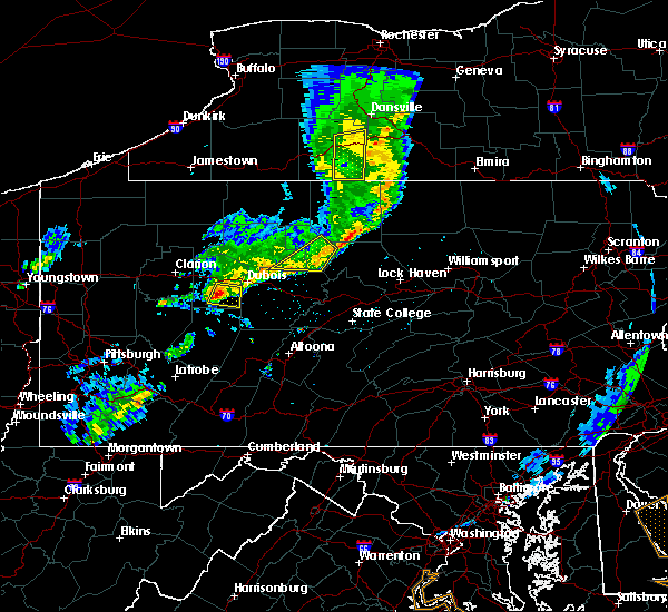 Radar Image for Severe Thunderstorms near Big Run, PA at 6/5/2016 7:02 PM EDT