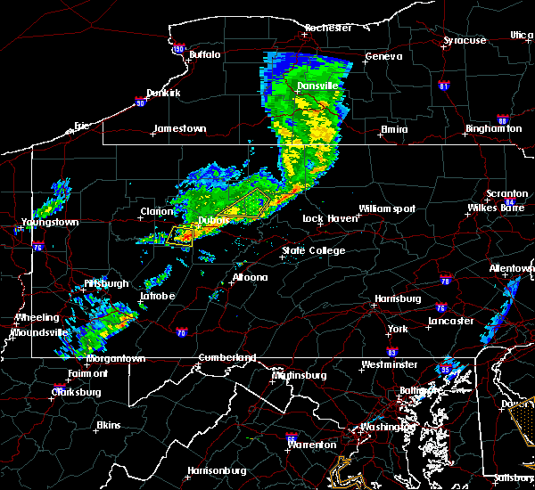 Radar Image for Severe Thunderstorms near Big Run, PA at 6/5/2016 7:14 PM EDT