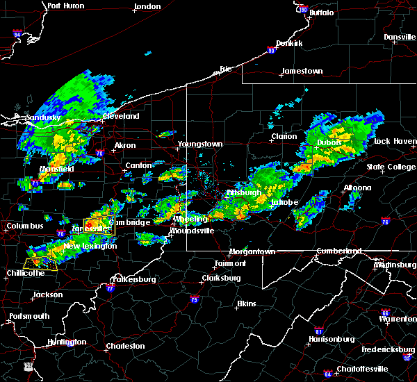 Radar Image for Severe Thunderstorms near Cambridge, OH at 6/6/2016 8:32 PM EDT