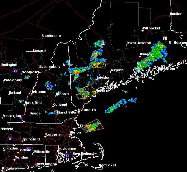 Radar Image for Severe Thunderstorms near Standish, ME at 6/7/2016 4:11 PM EDT