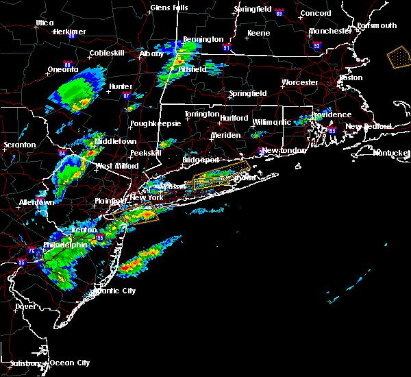 Radar Image for Severe Thunderstorms near Shoreham, NY at 6/7/2016 4:44 PM EDT
