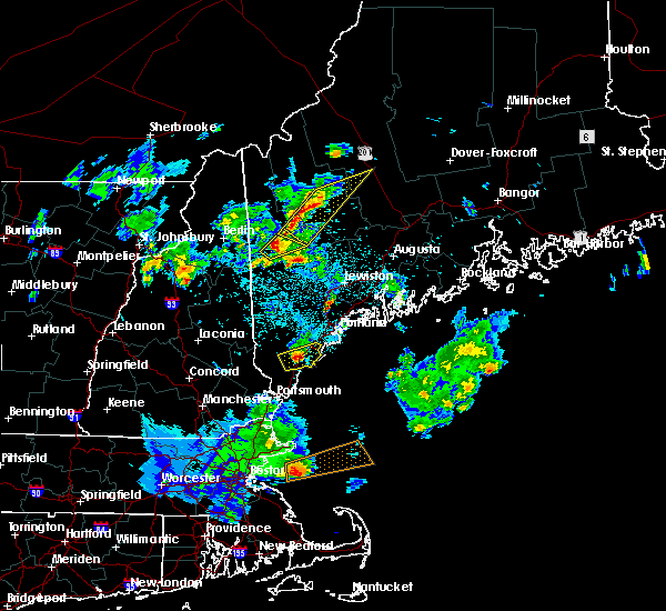 Radar Image for Severe Thunderstorms near Dixfield, ME at 6/7/2016 9:25 PM EDT
