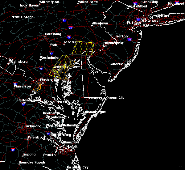 Radar Image for Severe Thunderstorms near Riverside, MD at 6/8/2016 11:15 AM EDT