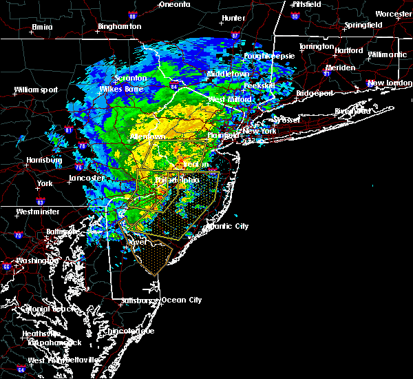 Radar Image for Severe Thunderstorms near Buena, NJ at 6/8/2016 12:06 PM EDT