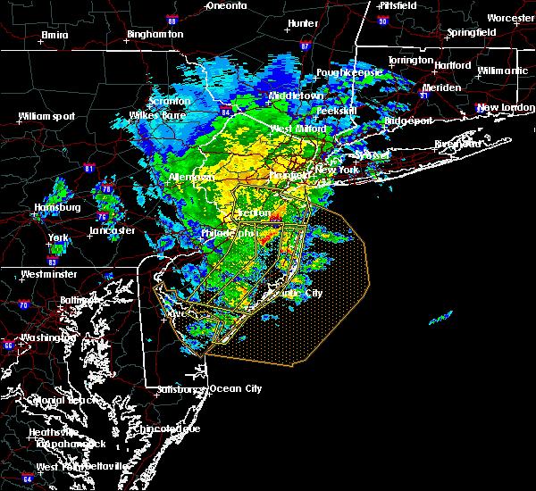Radar Image for Severe Thunderstorms near Silver Ridge, NJ at 6/8/2016 12:42 PM EDT