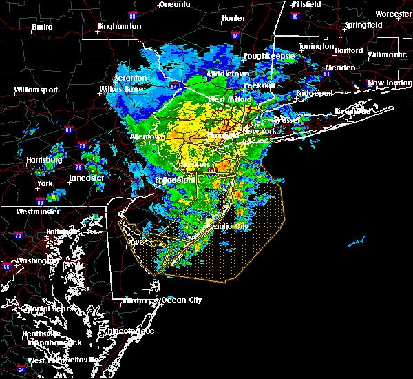 Radar Image for Severe Thunderstorms near Silver Ridge, NJ at 6/8/2016 12:58 PM EDT