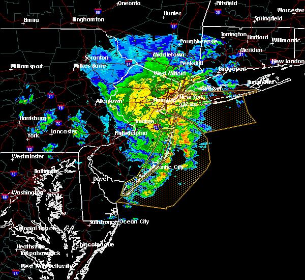 Radar Image for Severe Thunderstorms near Silver Ridge, NJ at 6/8/2016 1:12 PM EDT