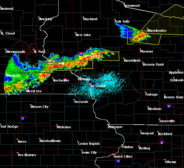 Radar Image for Severe Thunderstorms near Granton, WI at 6/10/2016 5:05 PM CDT