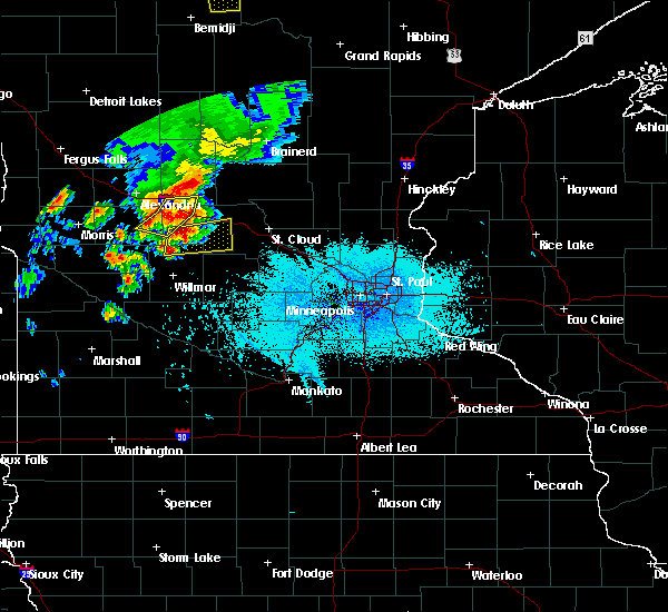 Radar Image for Severe Thunderstorms near West Union, MN at 6/12/2016 5:52 PM CDT