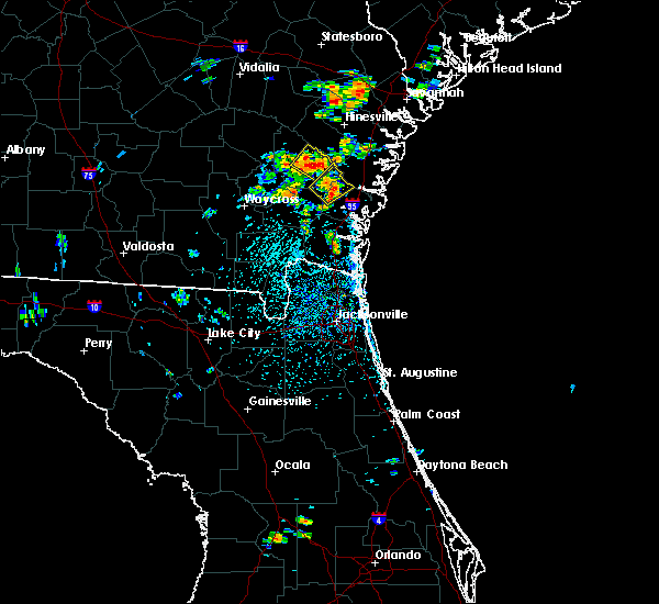 Radar Image for Severe Thunderstorms near Jesup, GA at 6/14/2016 2:08 PM EDT