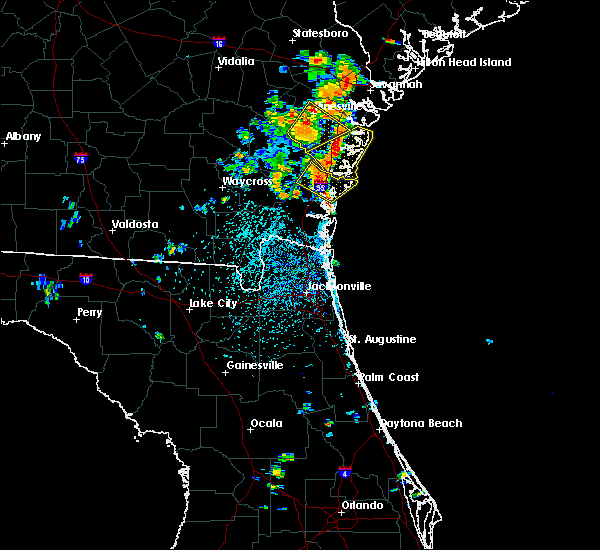 Radar Image for Severe Thunderstorms near Darien, GA at 6/14/2016 2:54 PM EDT