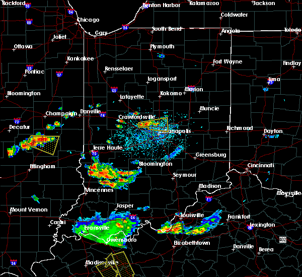 Radar Image for Severe Thunderstorms near Whitestown, IN at 6/15/2016 3:41 PM EDT