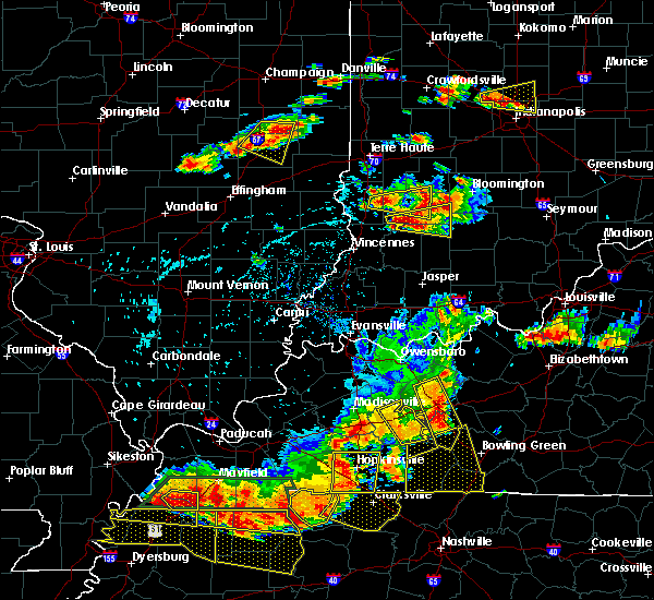 Radar Image for Severe Thunderstorms near Crane, IN at 6/15/2016 3:56 PM EDT