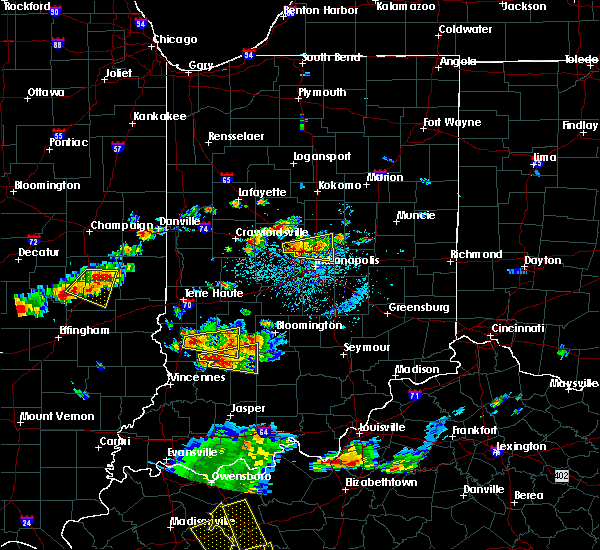 Radar Image for Severe Thunderstorms near Whitestown, IN at 6/15/2016 3:55 PM EDT