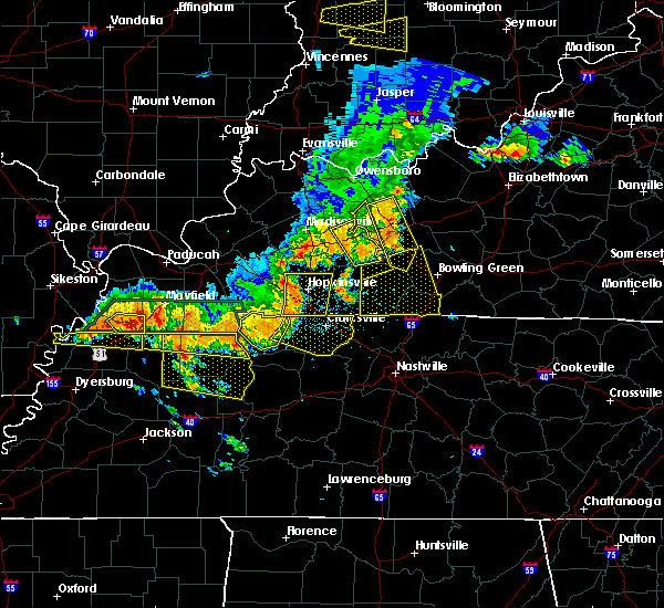Radar Image for Severe Thunderstorms near Russellville, KY at 6/15/2016 2:55 PM CDT