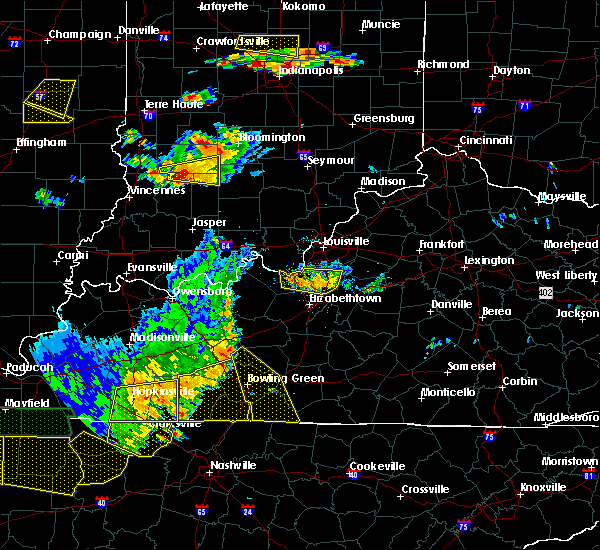 Radar Image for Severe Thunderstorms near West Point, KY at 6/15/2016 4:17 PM EDT