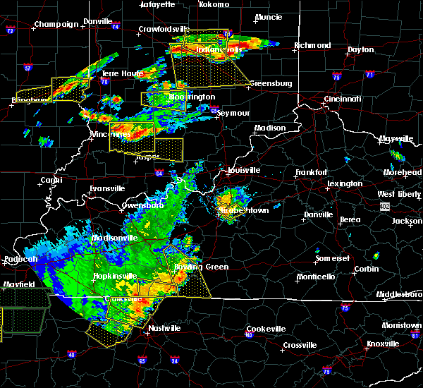 Radar Image for Severe Thunderstorms near Lebanon Junction, KY at 6/15/2016 4:54 PM EDT