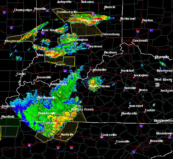 Radar Image for Severe Thunderstorms near Lebanon Junction, KY at 6/15/2016 4:57 PM EDT