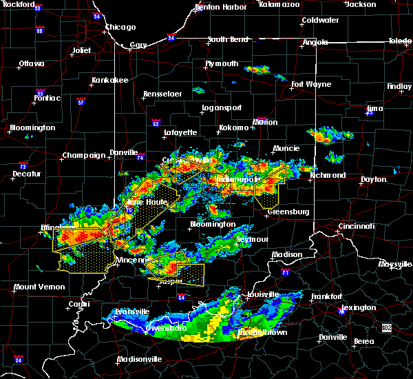 Radar Image for Severe Thunderstorms near Whitestown, IN at 6/15/2016 5:25 PM EDT
