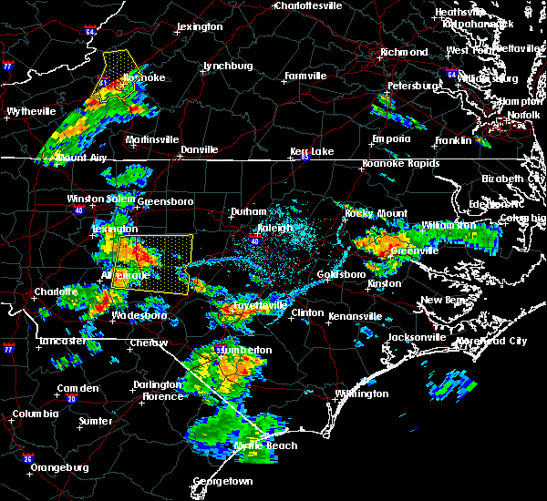 Radar Image for Severe Thunderstorms near Staley, NC at 6/15/2016 6:26 PM EDT