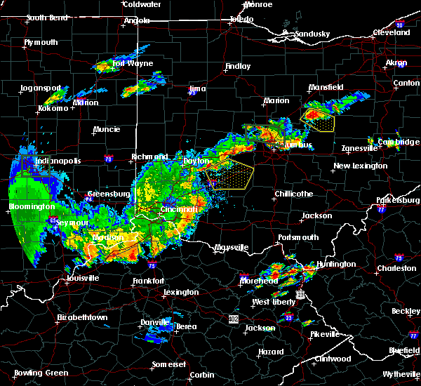 Radar Image for Severe Thunderstorms near Jeffersonville, OH at 6/15/2016 8:02 PM EDT