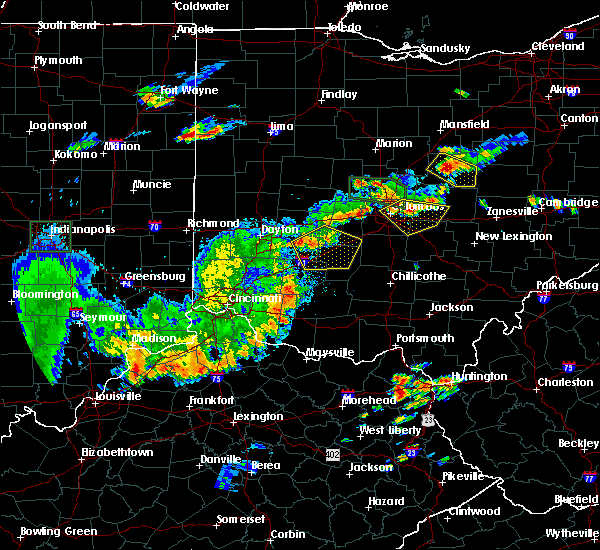 Radar Image for Severe Thunderstorms near New Albany, OH at 6/15/2016 8:09 PM EDT