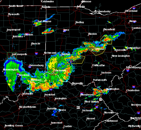 Radar Image for Severe Thunderstorms near Jeffersonville, OH at 6/15/2016 8:15 PM EDT