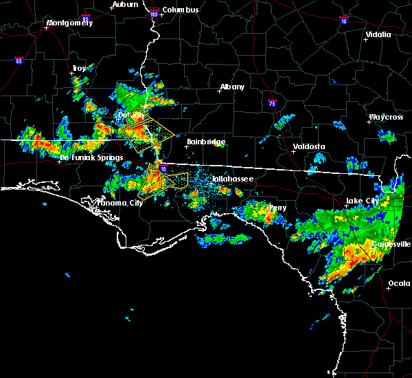 Radar Image for Severe Thunderstorms near Quincy, FL at 6/16/2016 2:44 PM EDT