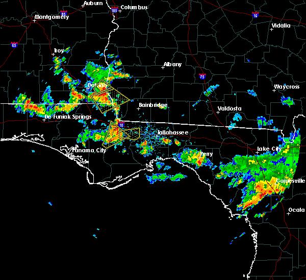 Radar Image for Severe Thunderstorms near Gretna, FL at 6/16/2016 2:44 PM EDT