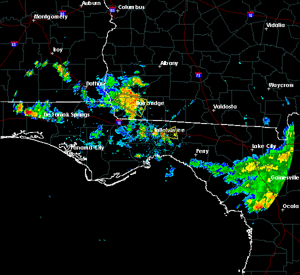 Radar Image for Severe Thunderstorms near Tallahassee, FL at 6/16/2016 3:27 PM EDT