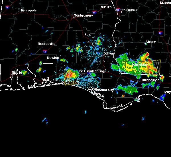 Radar Image for Severe Thunderstorms near Niceville, FL at 6/16/2016 3:26 PM CDT