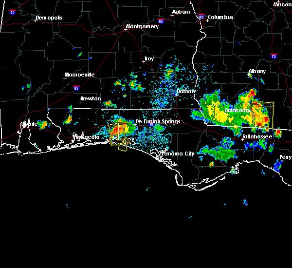 Radar Image for Severe Thunderstorms near Destin, FL at 6/16/2016 3:29 PM CDT