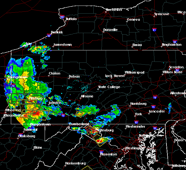 Radar Image for Severe Thunderstorms near Earlston, PA at 6/16/2016 4:29 PM EDT