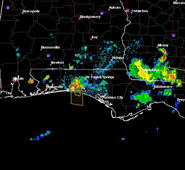Radar Image for Severe Thunderstorms near Niceville, FL at 6/16/2016 3:51 PM CDT