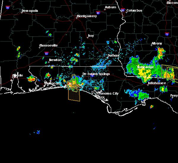 Radar Image for Severe Thunderstorms near Destin, FL at 6/16/2016 4:04 PM CDT