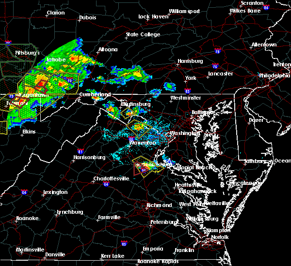 Radar Image for Severe Thunderstorms near Charles Town, WV at 6/16/2016 5:10 PM EDT