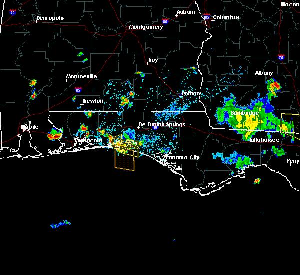 Radar Image for Severe Thunderstorms near Niceville, FL at 6/16/2016 4:13 PM CDT