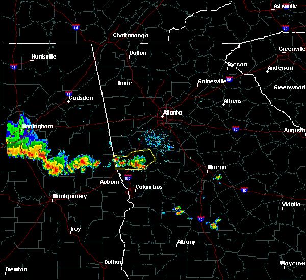 Radar Image for Severe Thunderstorms near Junction City, GA at 6/16/2016 7:15 PM EDT