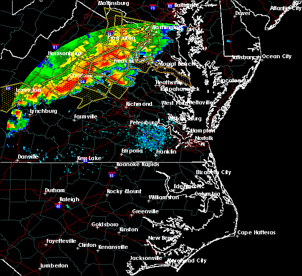 Radar Image for Severe Thunderstorms near Palmyra, VA at 6/16/2016 8:41 PM EDT