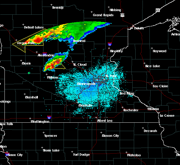 Radar Image for Severe Thunderstorms near Bertha, MN at 6/17/2016 1:40 PM CDT