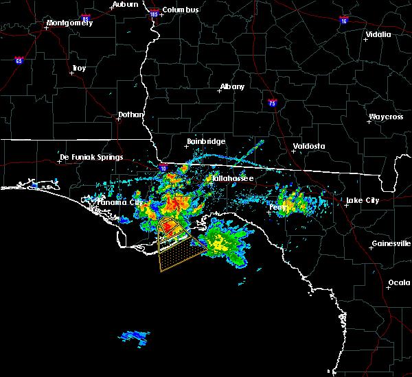 Radar Image for Severe Thunderstorms near Gretna, FL at 6/17/2016 2:57 PM EDT