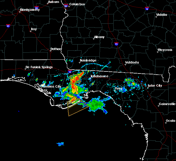 Radar Image for Severe Thunderstorms near Carrabelle, FL at 6/17/2016 3:18 PM EDT