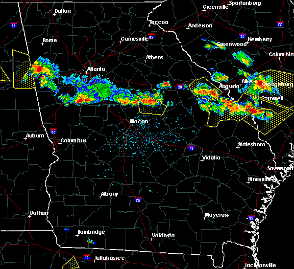 Radar Image for Severe Thunderstorms near Thomson, GA at 6/17/2016 3:37 PM EDT