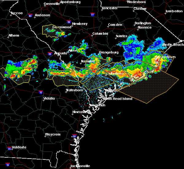 Radar Image for Severe Thunderstorms near Govan, SC at 6/17/2016 4:19 PM EDT
