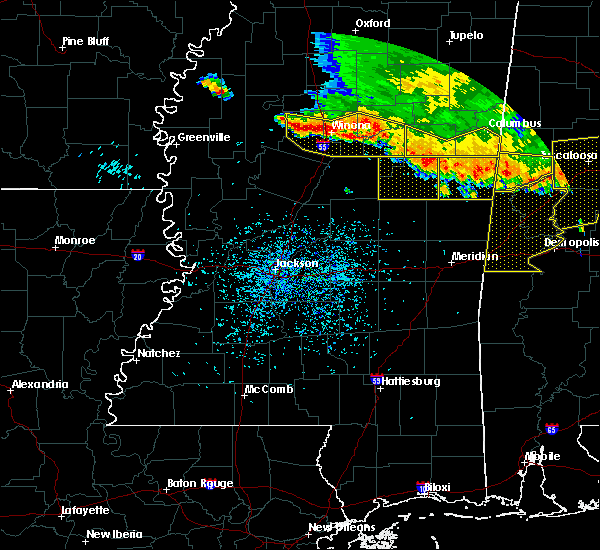 Radar Image for Severe Thunderstorms near Carrollton, MS at 6/17/2016 3:22 PM CDT
