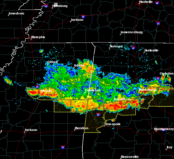 Radar Image for Severe Thunderstorms near Noxapater, MS at 6/17/2016 3:32 PM CDT