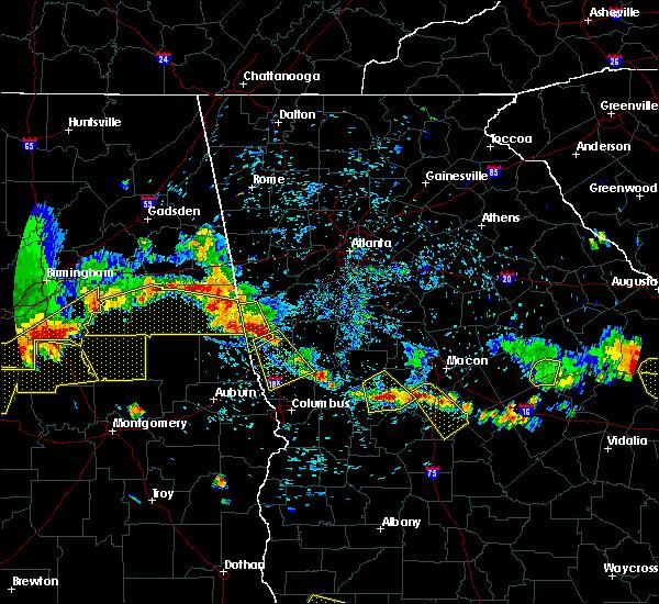 Radar Image for Severe Thunderstorms near Shiloh, GA at 6/17/2016 5:02 PM EDT