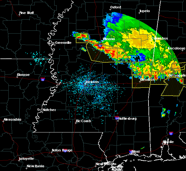 Radar Image for Severe Thunderstorms near Lauderdale, MS at 6/17/2016 4:18 PM CDT