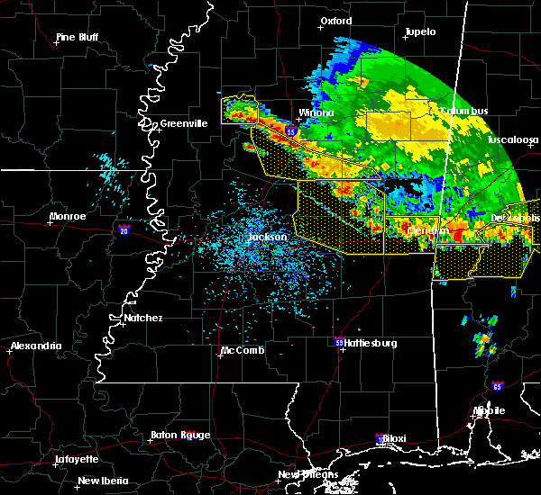 Radar Image for Severe Thunderstorms near Greenwood, MS at 6/17/2016 4:35 PM CDT